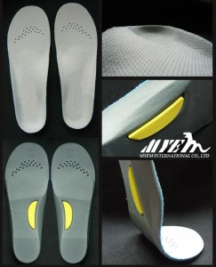 FL-FL002 Full length flat foot insole /foot care insole for kids
