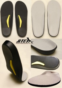 Full length flat foot insole /foot care insole for adult FL-FA002