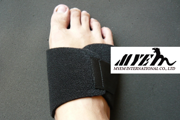 ES-AR1104_Silicone arch support with neoprene band